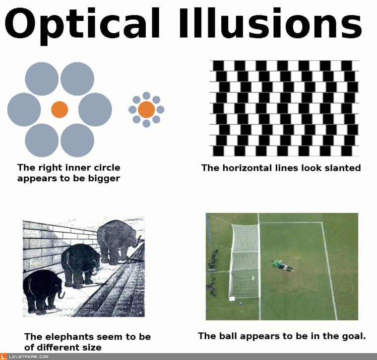 Four Optical Illusions
