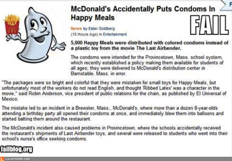 Mc-ccident!!!!