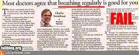 Breathing Fail
