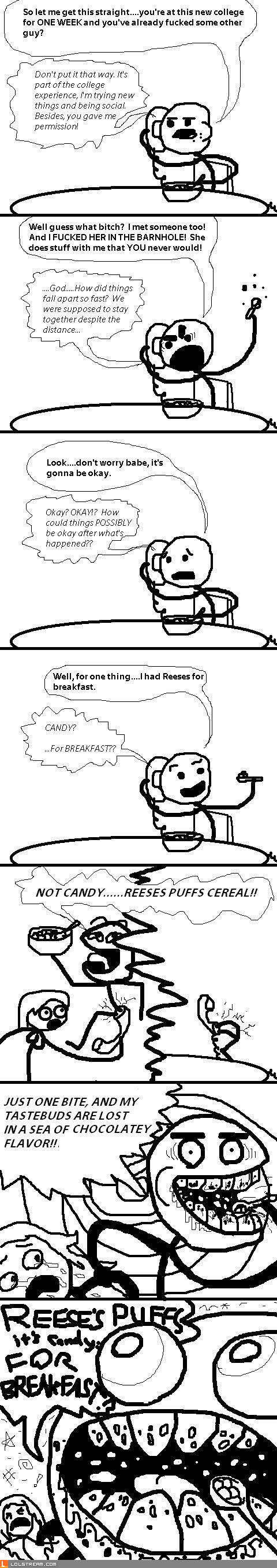 Reeses fix everything...