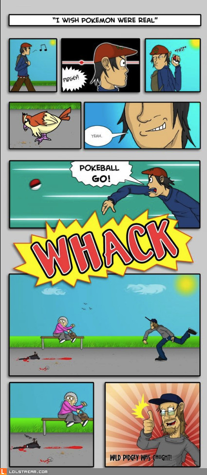 Real Pokemon