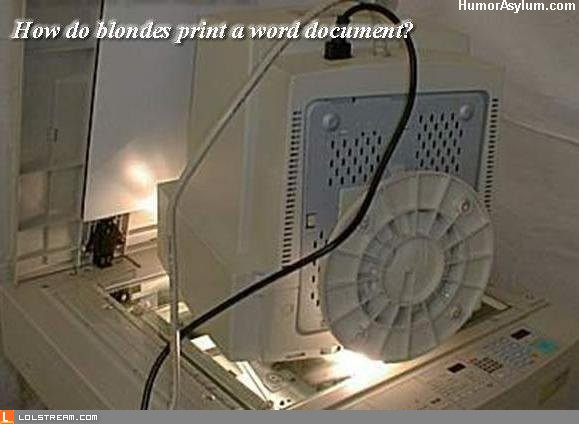 Blonde Photocopy