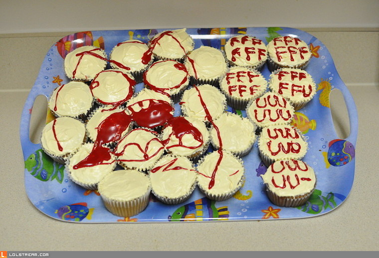 Rage Cupcakes