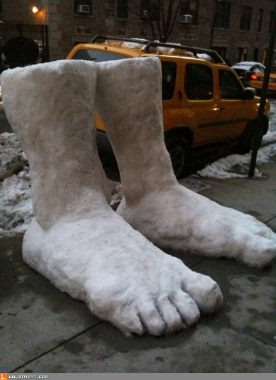 Two Feet of Snow!