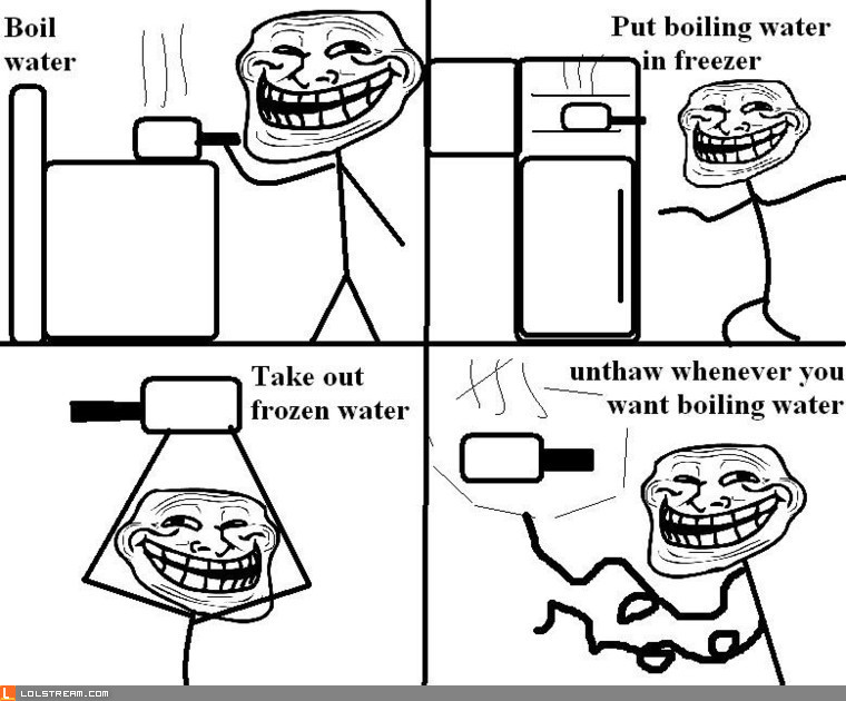 How to store boiling water:
