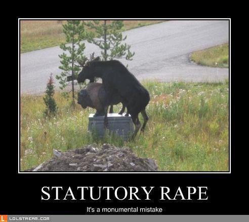 Statue Rape