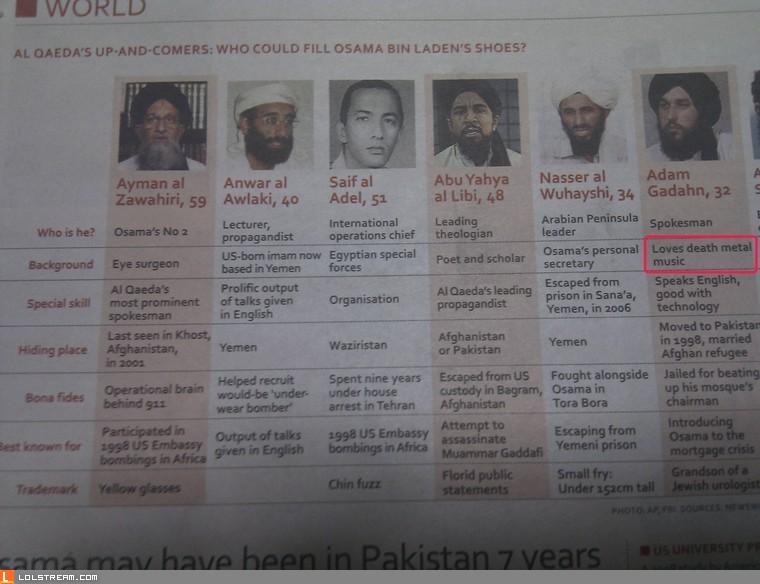 Al Qaeda's New Leader?