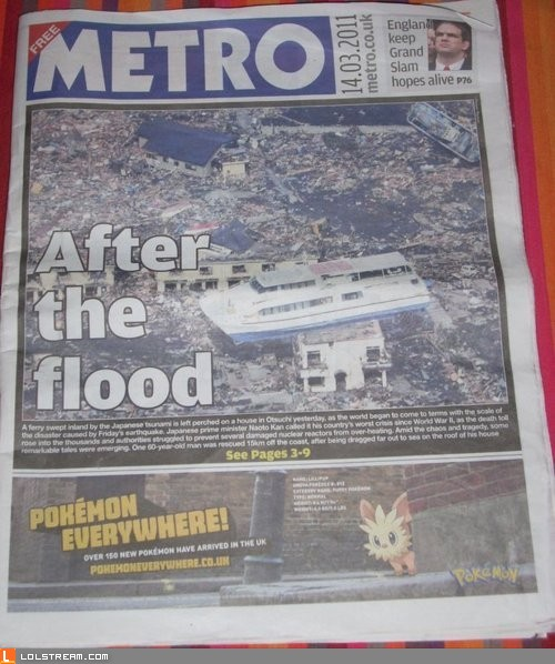 After the flood...