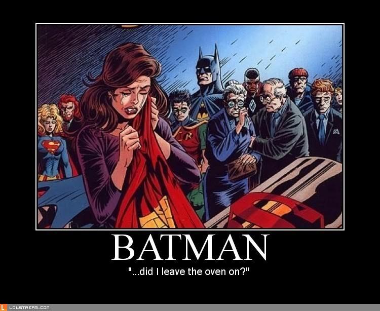Superhero Funeral