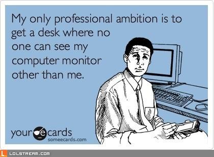 Professional Ambition