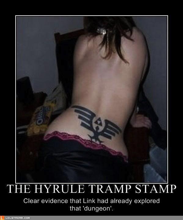 Hyrule Tramp Stamp