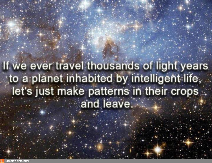 Interplanetary Trolling