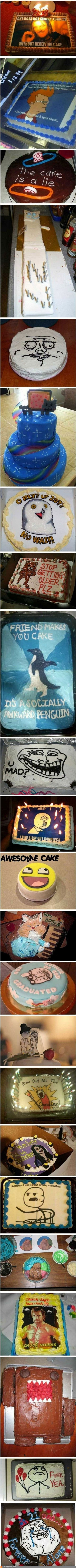 Meme Birthday Cakes