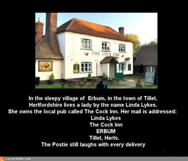 Hilarious Address