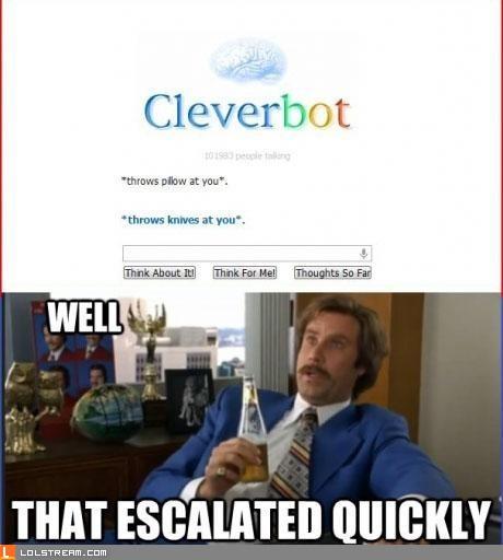 Violent Cleverbot