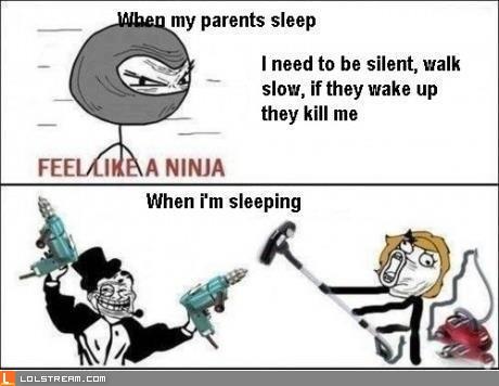 When My Parents Sleep...