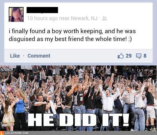 Escaped the Friend Zone