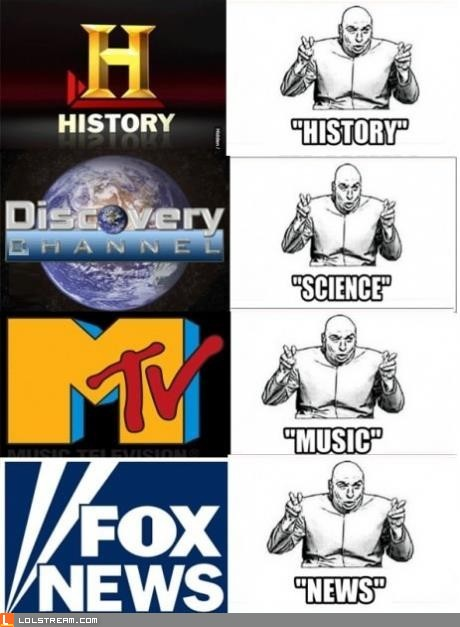 """Accurate"" TV channel titles"