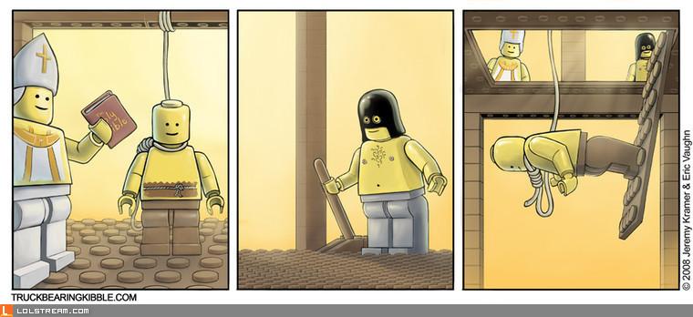 Lego Hanging