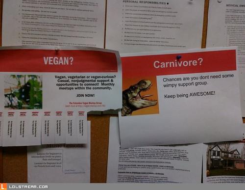 Vegan? pfft