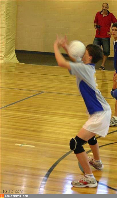 Volleyball - doing it wrong
