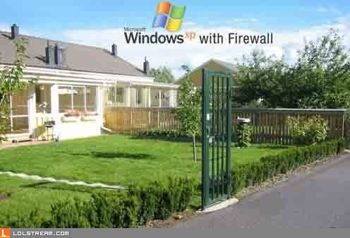 Windows XP with Firewall