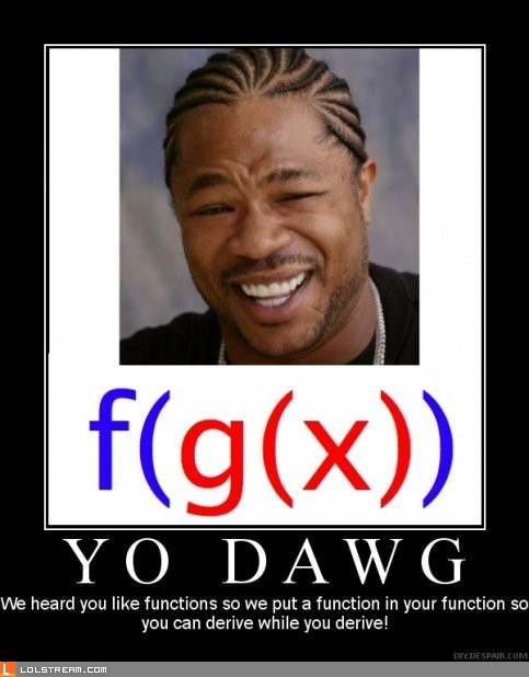 We heard you like functions