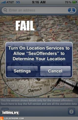 iPhone app wording fail