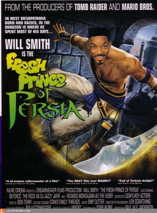 Fresh Prince of Persia