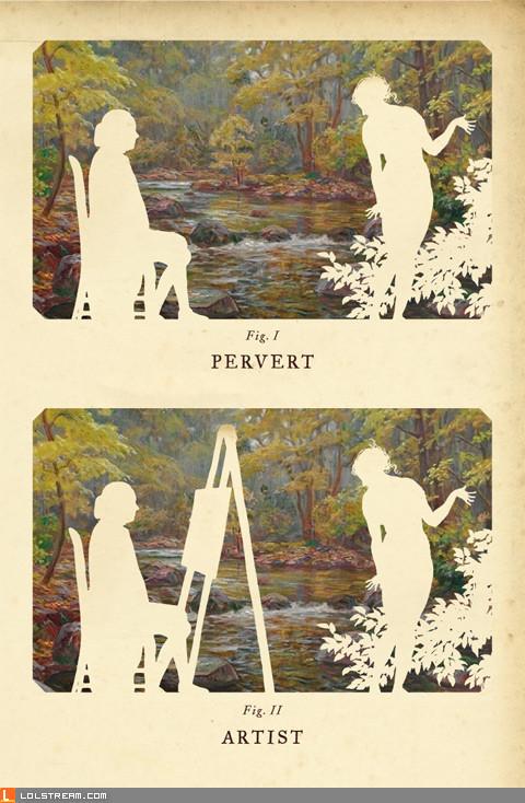 Pervert, or...?