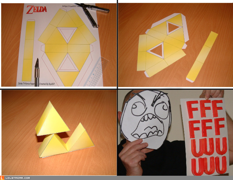 Still can't triforce