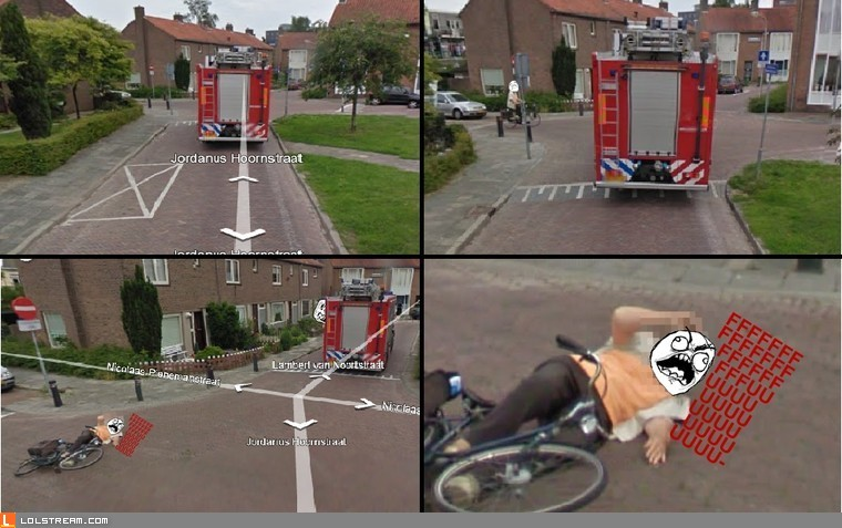 Google maps fire-engine rage