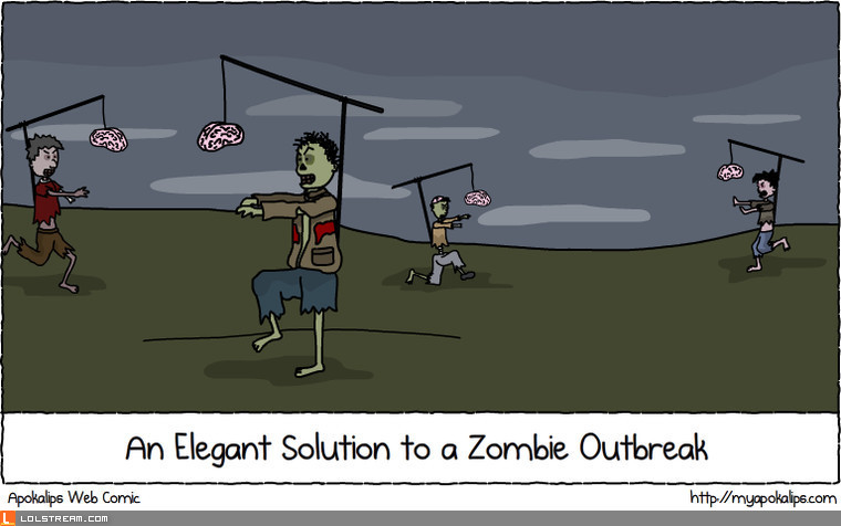 An Elegant Solution to a Zombie Outbreak