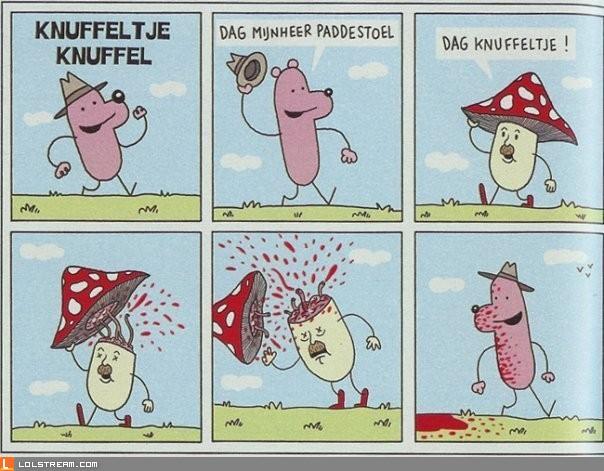 Odd cartoon