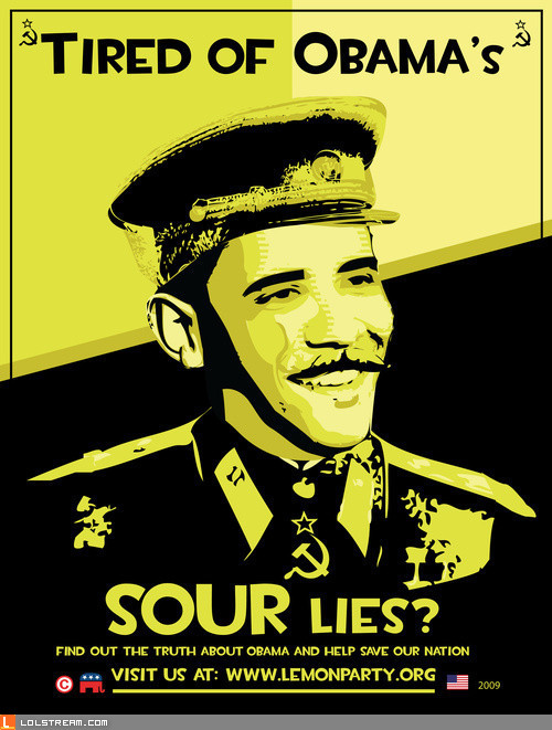 Tired of Obama's Sour Lies?