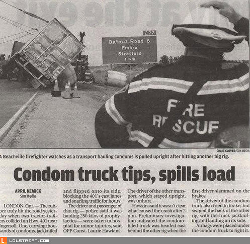 Condom Truck