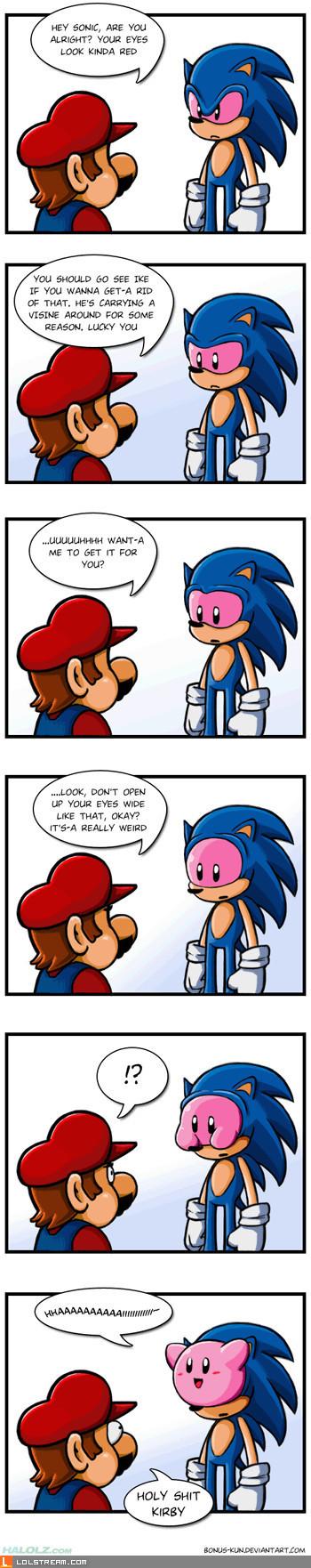 Sonic Red-Eye