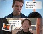 You need to change my batteries...