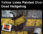 Line painting fail