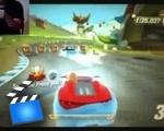 Racing games on the Kinect