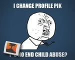 Facebook Child Abuse Campaign