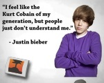 Bieber/ Cobain quotes