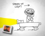 How to travel at the speed of light
