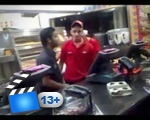KFC Worker Loses It