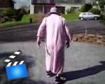 Grandma does a flip!!!