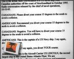 Navy Argument