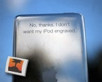 Literal iPod Engraving