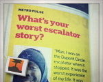 Worst escalator story