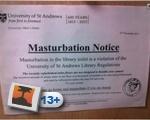 Masturbation Notice