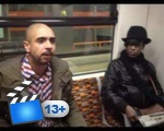 My Tram Experience - Black man goes mad